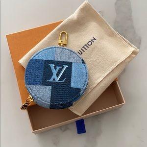 Louis Vuitton Monogram Denim Coin Pouch